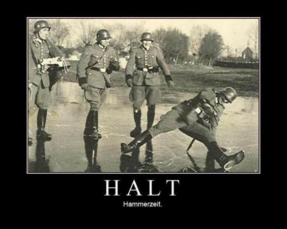 Halt--hammerzeit