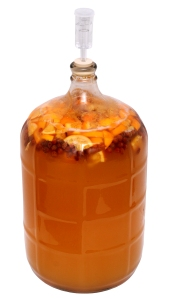 Honey-Fruit-Mead-Brewing