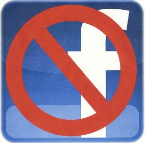 No-Facebook-logo